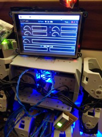 Raspberry Pi running Conky