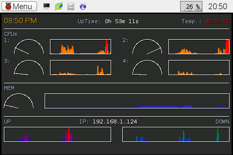 Custom Conky on the Raspberry Pi 2 (2/4)