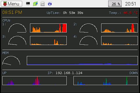 Custom Conky on the Raspberry Pi 2 (3/4)