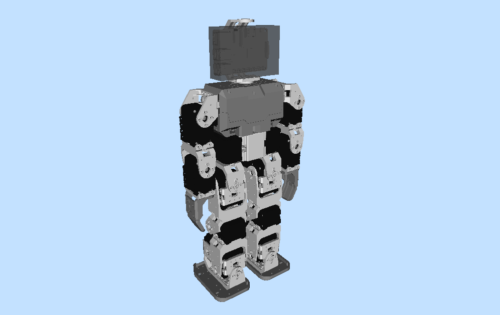 Robot VR model updates (3/5)