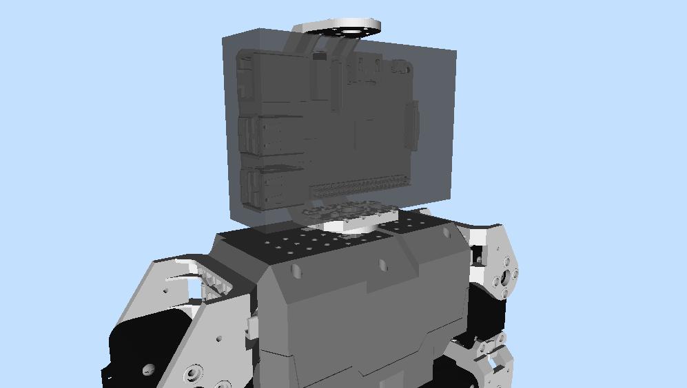 Robot VR model updates (1/5)