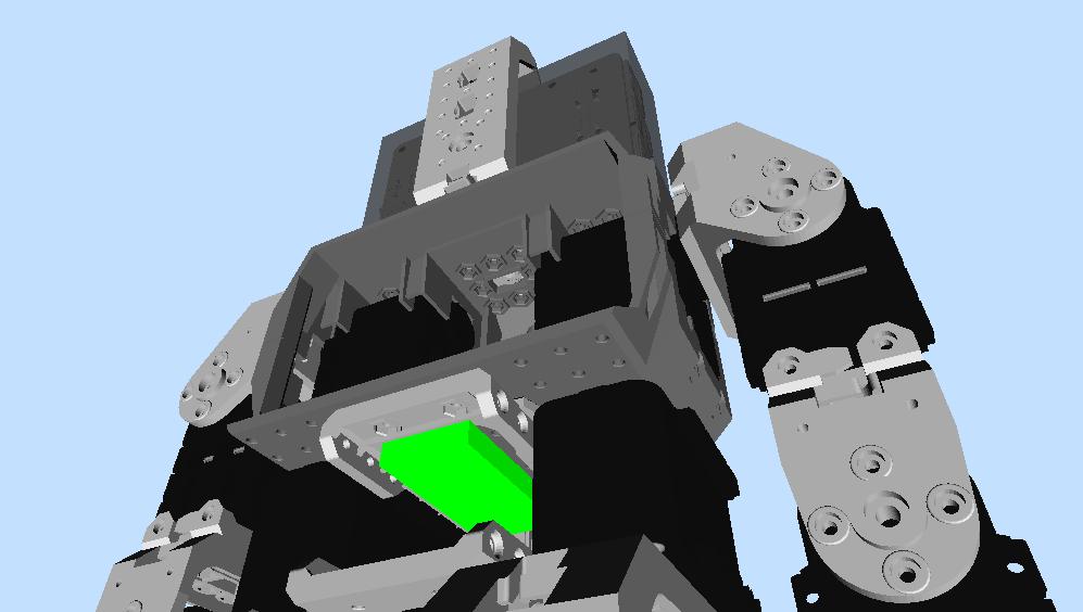 Robot VR model updates (2/5)
