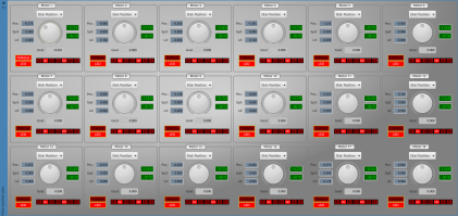 The updated Motor Dials, controlling 18 AX-12 motors.